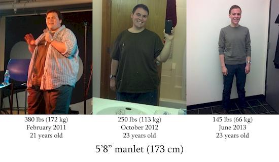 Ο χρήστης r1ptide64 έχασε 106 κιλά σε 2 χρόνια και 4 μήνες