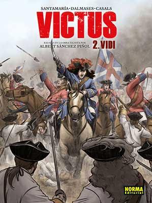 Victus 2. Vidi,  Segunda parte de la adaptación al cómic del bestseller internacional de Albert Sánchez Piñol