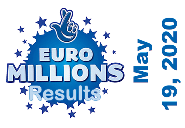 EuroMillions Results for Tuesday, May 19, 2020