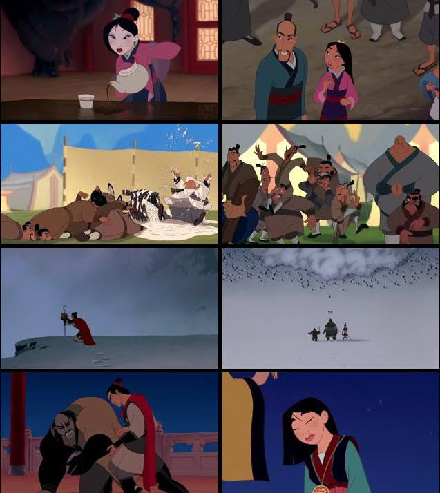 Mulan 1998 Dual Audio Hindi 720p BluRay