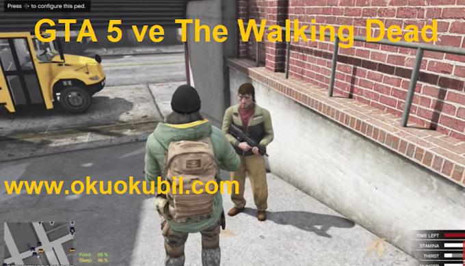 Gerilim Modu GTA 5 ve The Walking Dead'i Bir Araya Getiriyor (Video) 2020