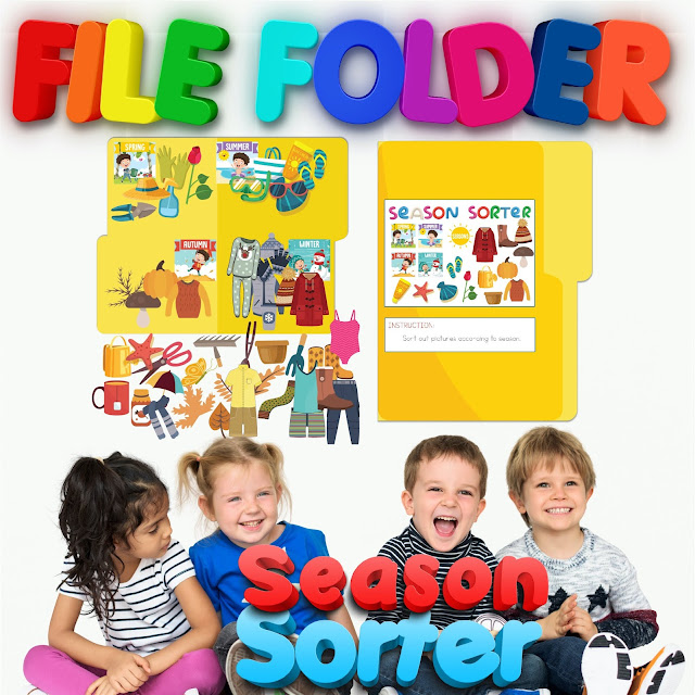 file folder activity teachers pay teachers