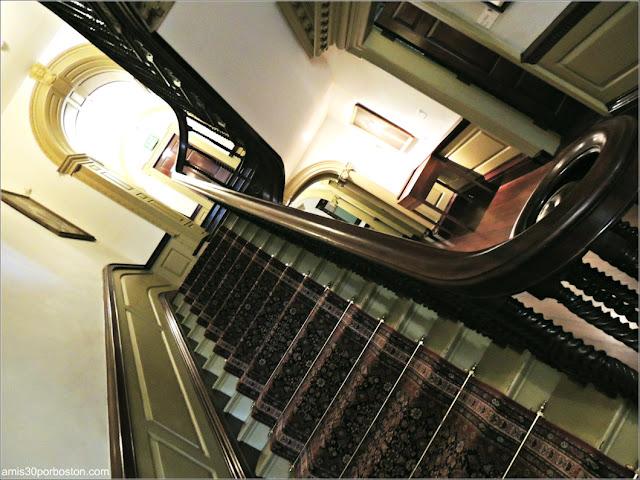 Escaleras Principales de la Mansión de John Brown, Providence