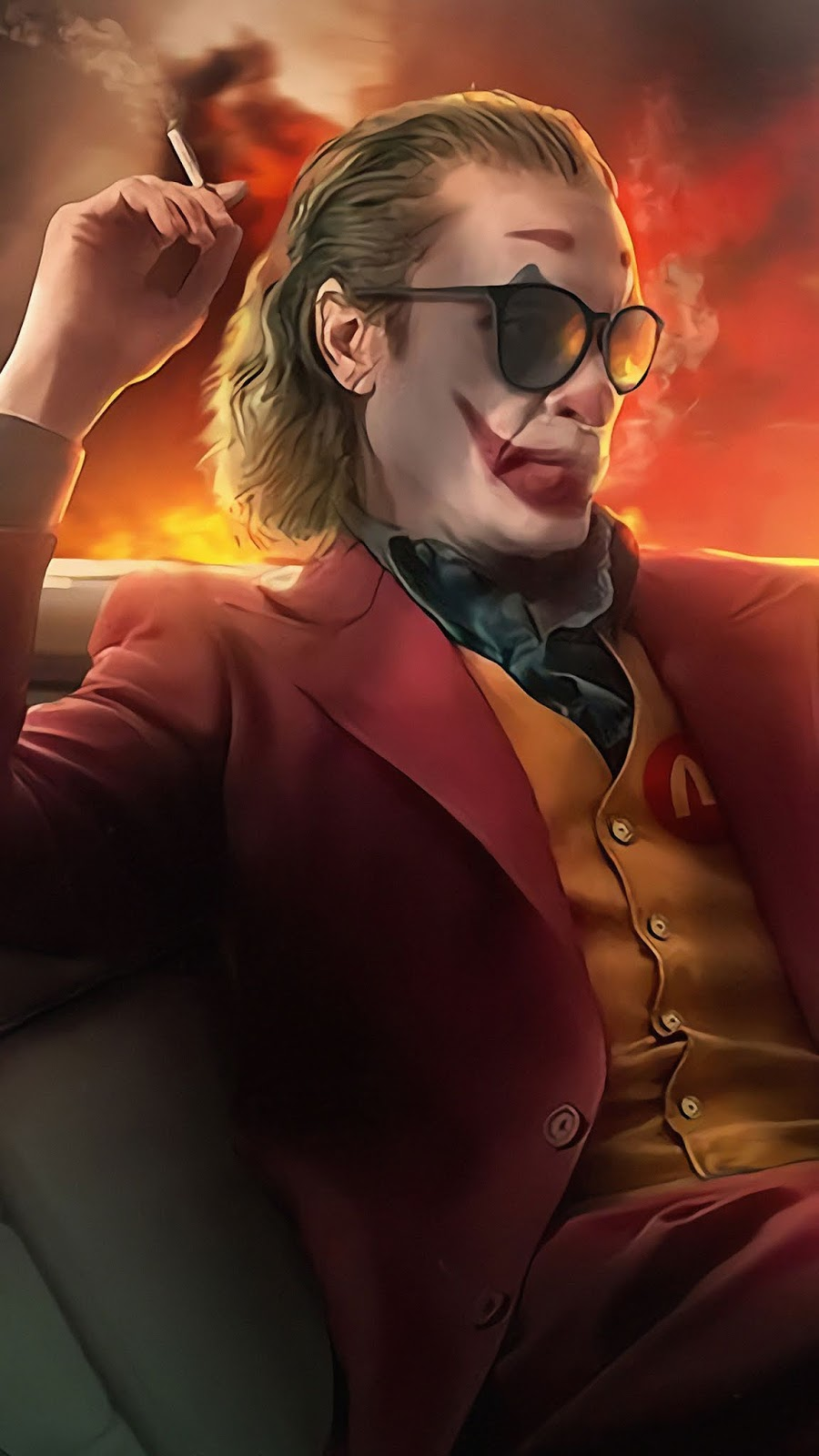 Joker 2019 Movie art Mobile Wallpaper