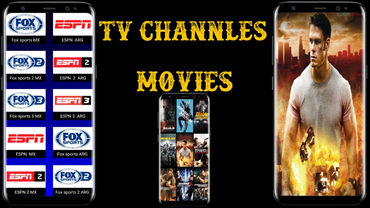 تطبيق لاتيني لمشاهدة القنوات المشفرة و الأفلام اللاتينية