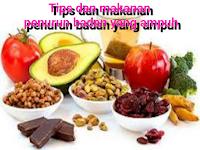 Tips dan daftar makanan penurun berat badan yang ampuh dan sehat