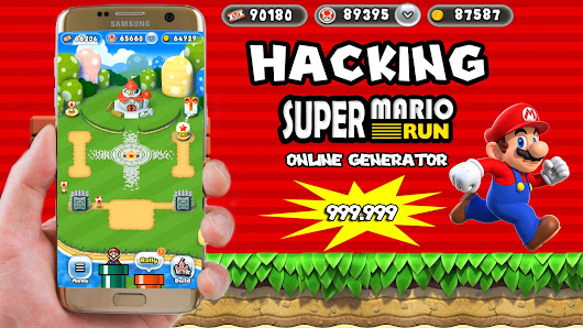 Super Mario Run Hack - Online Cheat Tool For iOS & Android [Unlimited Coins And Toads]