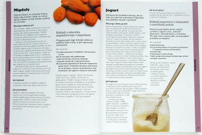 Migdały i jogurt