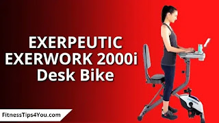 EXERPEUTIC EXERWORK 2000i desk bike