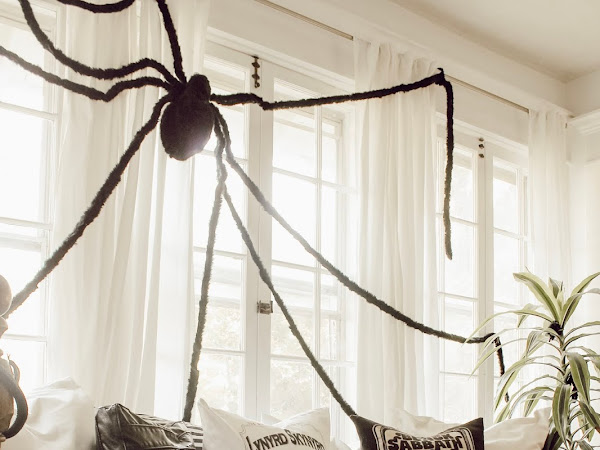 Halloween Decorating in our Sunroom