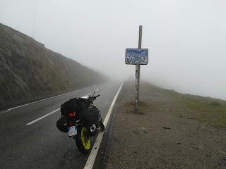 primo viaggio in moto