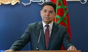 Bourita: Le Maroc n'accepte pas le double langage et le double jeu de Madrid