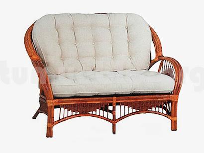 Sofa rattan modelo J461