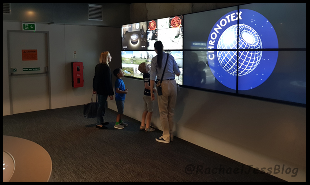 Being shown around the timestation of Chronotex