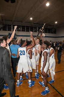 Varsity Knights Basketball Sweep the Area 1