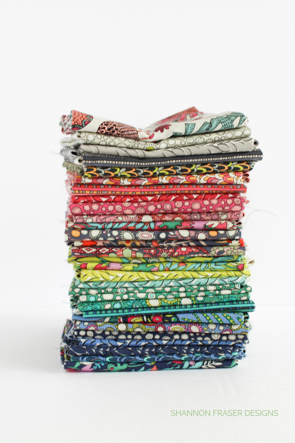 Fantasy FQ Bundle | Q3 Finish-a-Long 2019 | Shannon Fraser Designs #fatquarter #windhamfabrics