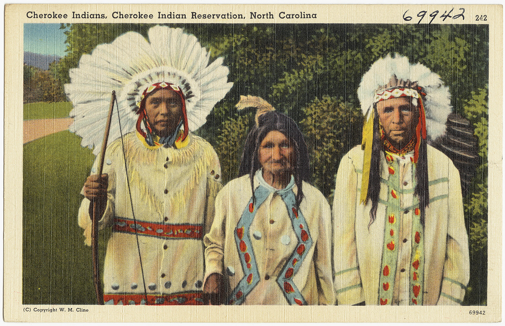 American Indian's History and Photographs: Cherokee Indian's Gods ...
