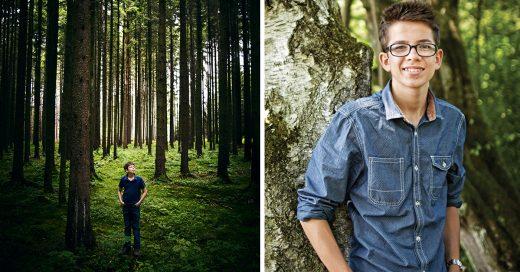 Adolescente Alfa, por plantar millones de árboles en el planeta