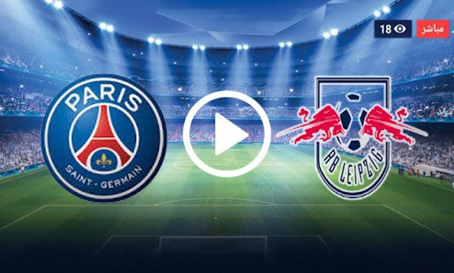 موعد مباراة باريس سان جيرمان ولايبزيغ بث مباشر بتاريخ 18-08-2020 دوري أبطال أوروبا