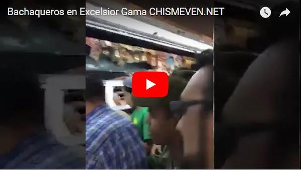 Bachaqueros felices porque le SUNDDE obligó bajar los precios en Excelsior Gama