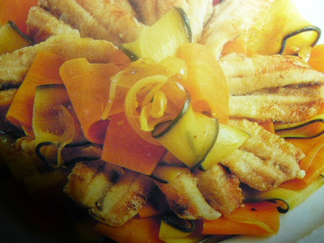 ricette alici - con verdure in agrodolce