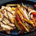 Tex-Mex Iron Skillet Chicken Fajitas with Peppers