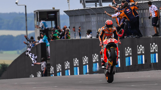 Hasil Race MotoGP Jerman 2017, Marc Marquez Juara, #2 Folger #3 Pedrosa