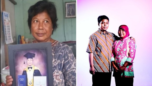 Perjuangan Keras Yuniati, Buruh Cuci yang Sukses Sekolahkan Anaknya hingga S3