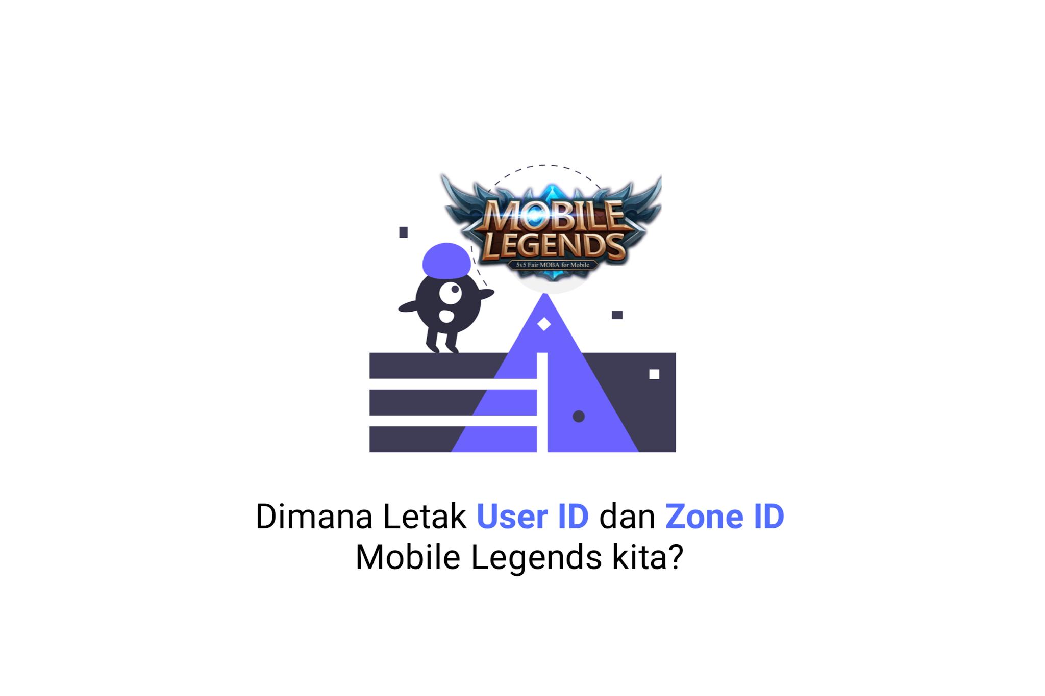 Dimana Letak User ID dan Zone ID Mobile Legends kita?