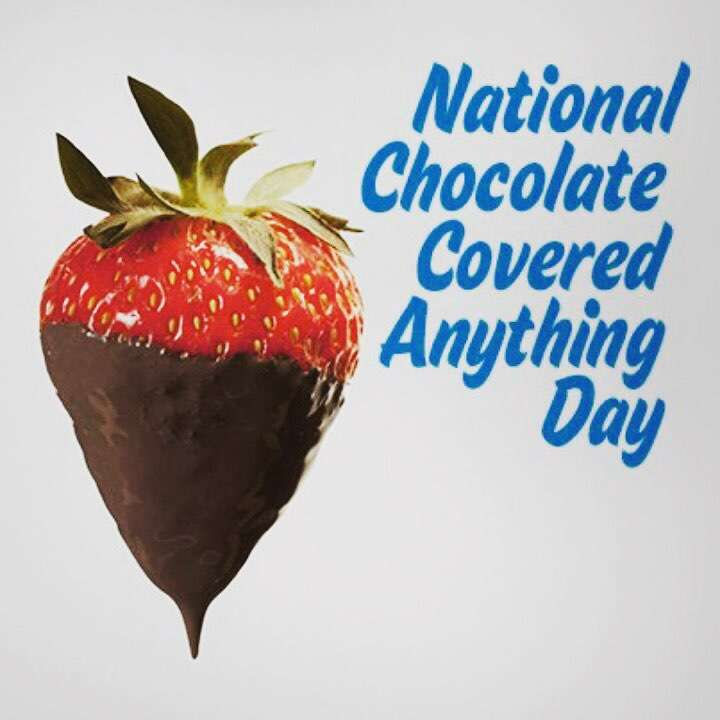 National Chocolate Covered Anything Day Wishes Beautiful Image