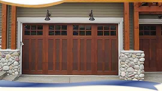 16x7 garage door weight