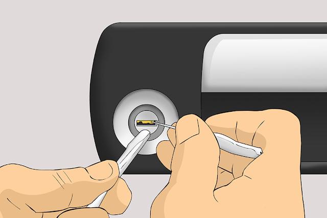 Comment enlever une clé cassée par un allumage de voiture