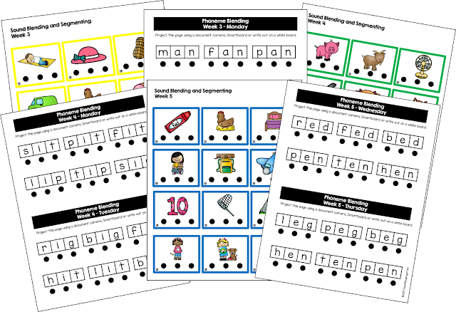 Phonemic awareness instruction for kindergarten: Teach letter names, sounds segmenting, blending, rhyming and handwriting