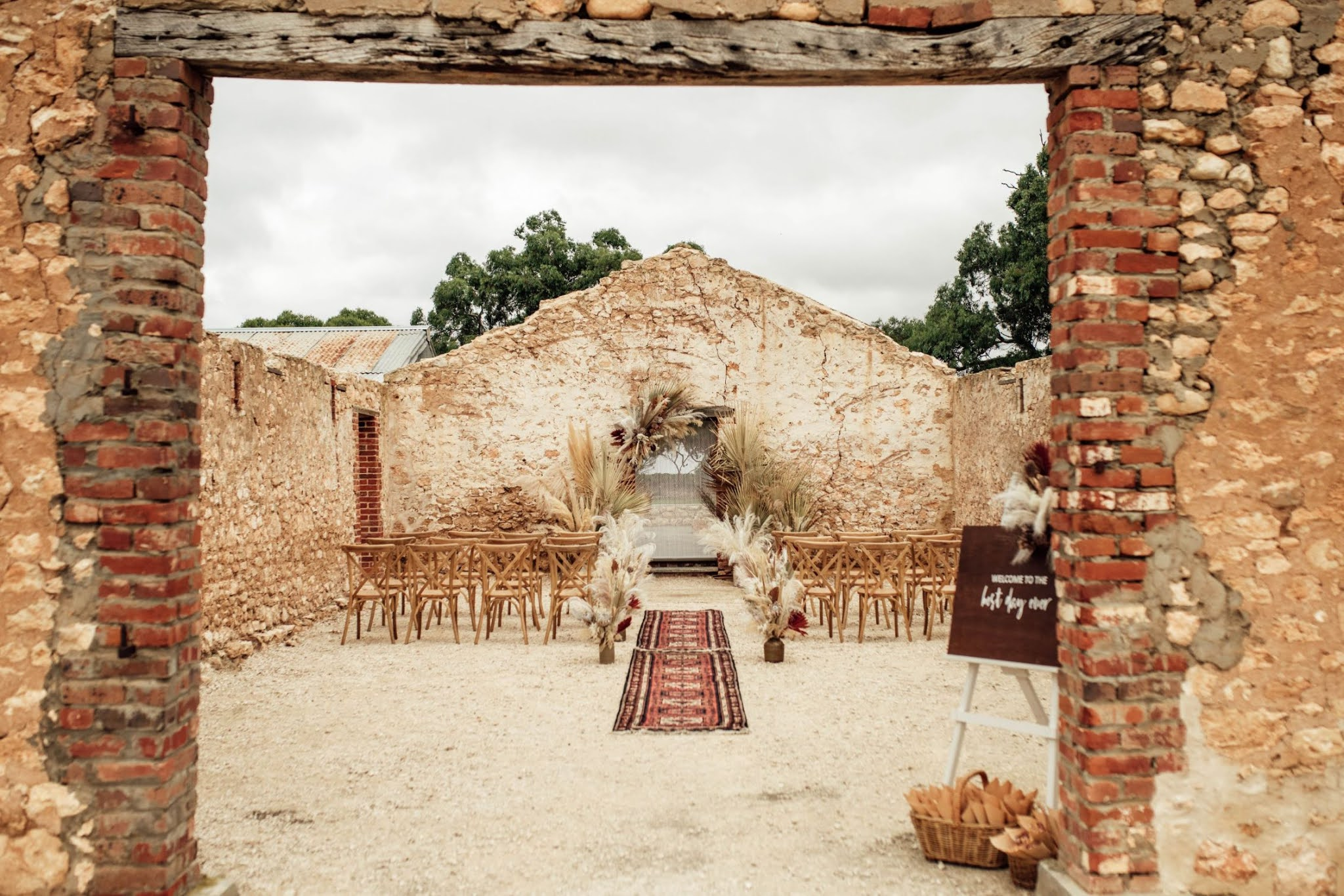 the raw photographer weddings styling planner south australia boho wedding