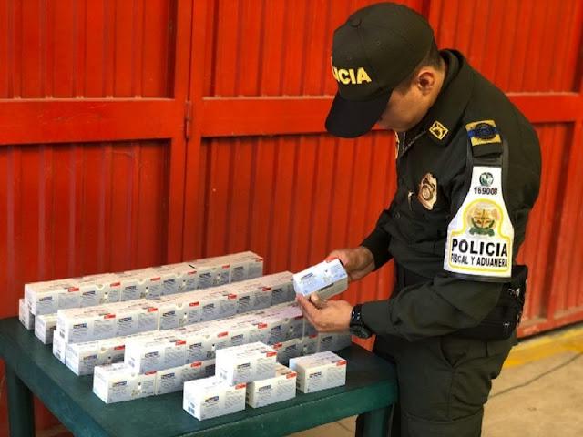 En el Cesar cayó contrabando de medicinas norteamericanas avaluado en $28  millones