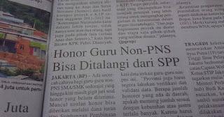 Honor Guru Non-PNS Bisa Ditalangi dari Dana Iuran SPP, Begini Alasannya