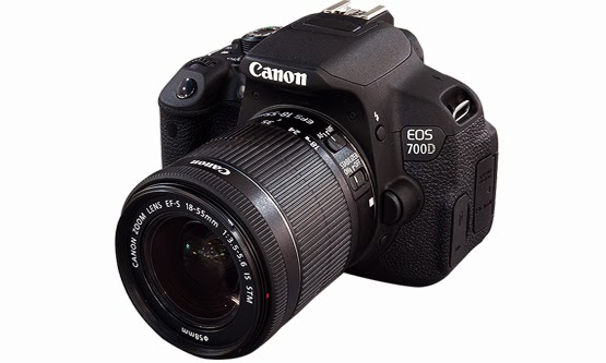 Harga dan Spesifikasi Kamera DSLR Canon EOS 700D Murah