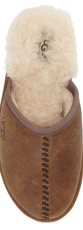 UGG® Australia 'Scuff - Deco' Genuine Shearling Slipper