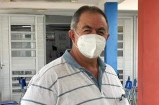 Em processo de recuperação da Covid-19, prefeito de Cubati passa por tratamento em Campina
