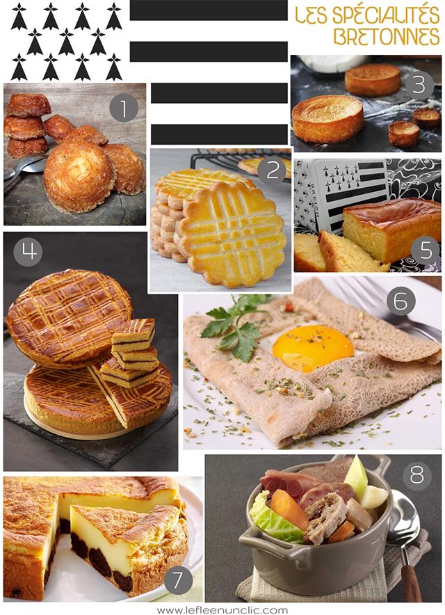 les spécialités bretonnes, gastronomie française, gastronomie bretonne, FLE, le FLE en un 'clic'