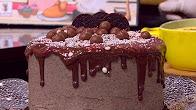 طريقة عمل كيكة بسكويت الشوكولاتة | غادة التلي الشيف