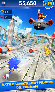 Game Sonic Dash v2.9.0.Go Mod Apk (Unlimited Money)