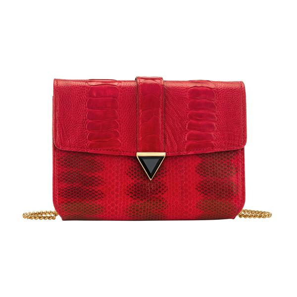 Illara Red Cross-Body Bag