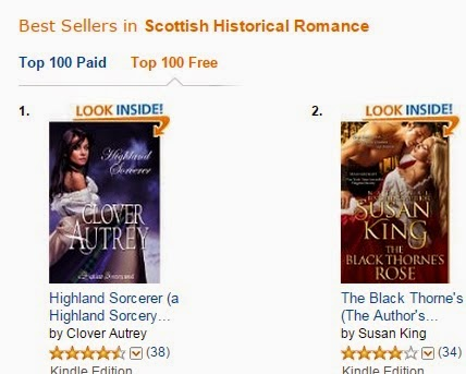 #1 Bestseller Scottish Historical Romance