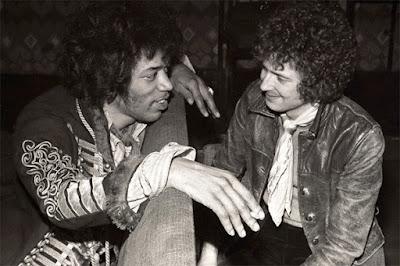 Hendrix e Clapton