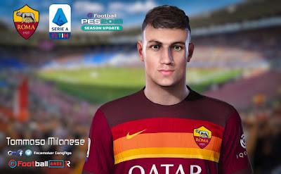 PES 2021 Faces Tommaso Milanese by CongNgo