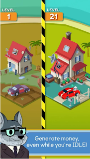 Taps to Riches Mod APK Unlocked all fitur