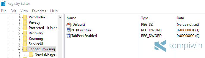 Cara Hilangkan Tab Preview di Microsoft Edge 3