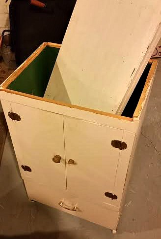 old cupboard, kitchen island, upcycled, https://goo.gl/GTqvzh