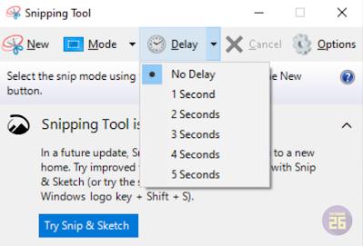Cara Screenshoot Di Laptop